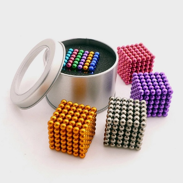 Colorful 216 Pcs D5mm Neocube Ball