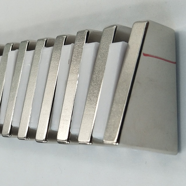 Neodymium Trapezoid Magnet with Mark