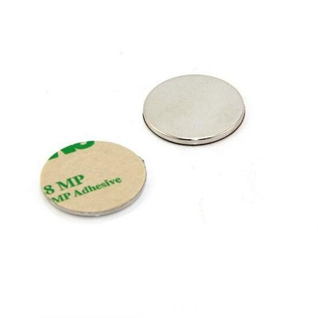 Disc NdFeB Magnet with 3M adhesive