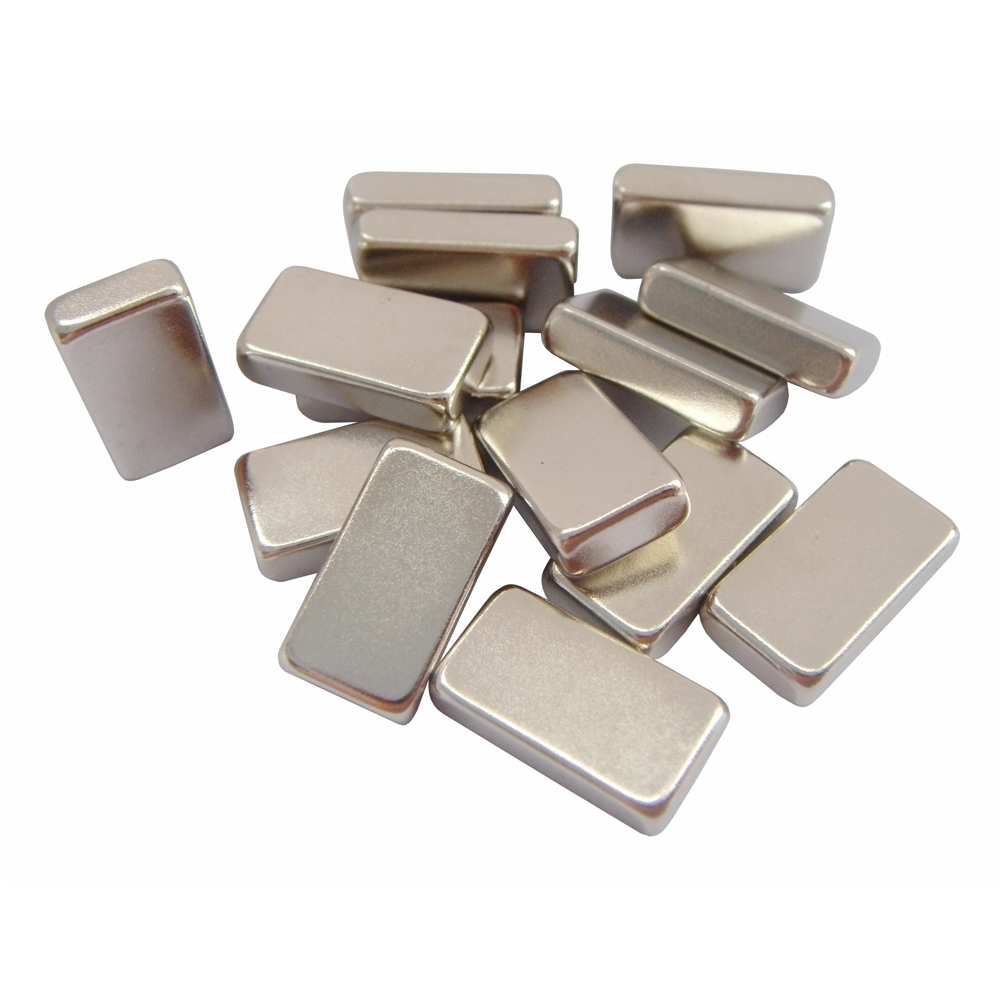 Rectangular Magnets Zinc-Plated NdFeB N48SH