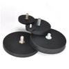 Bigger Dia Rubber coating ndfeb Magnet holder With screw hole