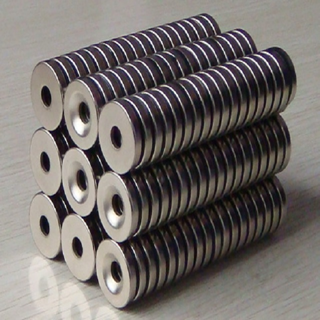 Disc Neodymium Magnet with Countersunk